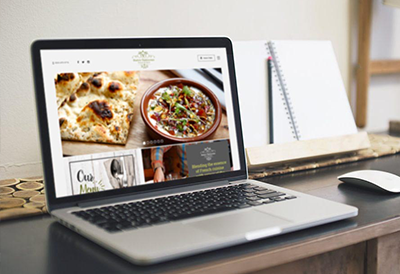Bistro Vadouvan Restaurant Website Design